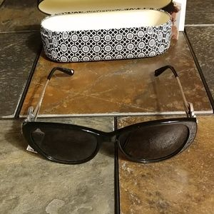 NWT Brighton ONE FINE DAY Black Sunglasses MSRP $105